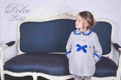 abrigo de niña dolce petit moda infantil