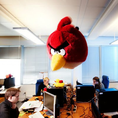 Angry Birds. Rovio Mobile. Photo: Henrik Kettunen