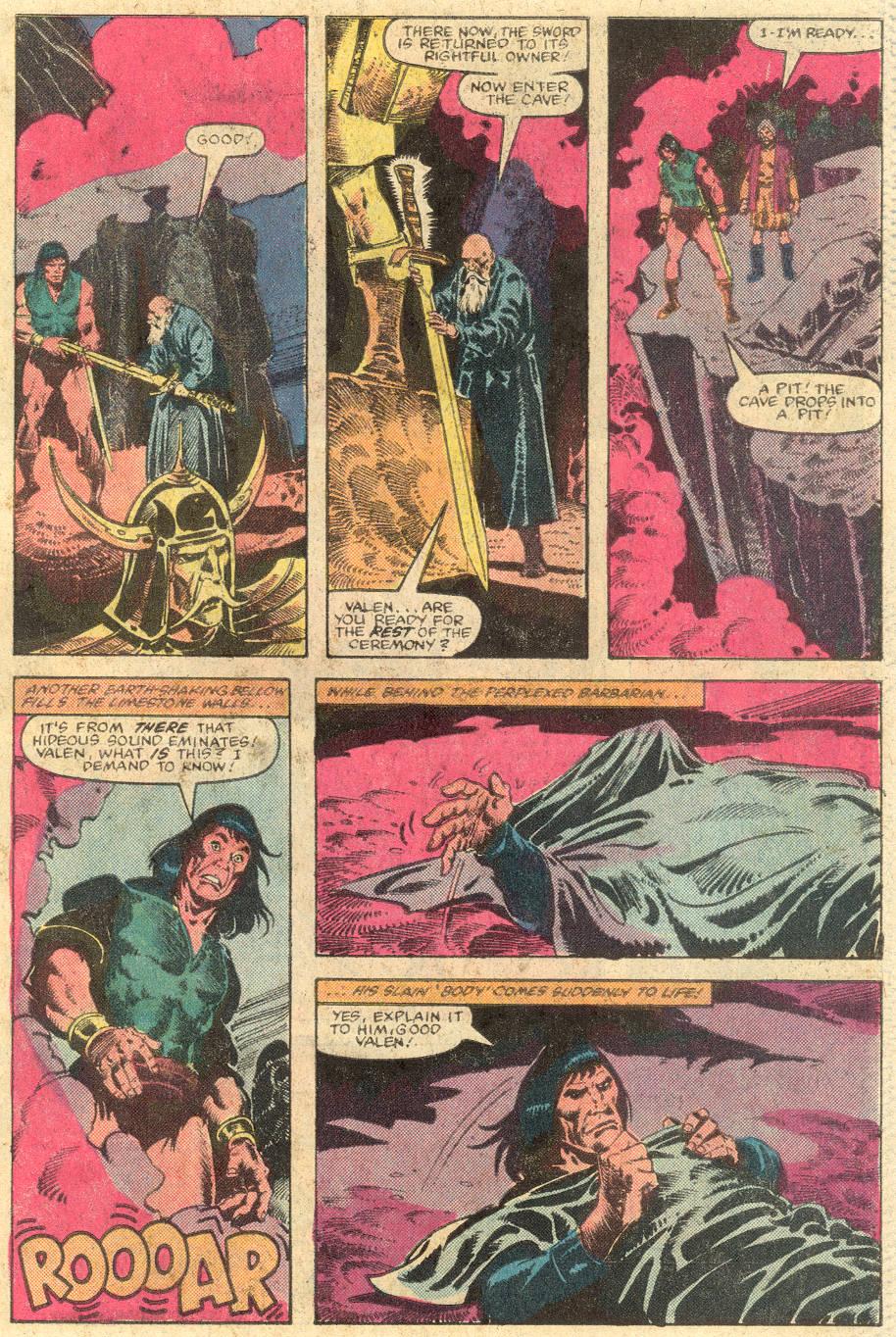 Conan the Barbarian (1970) Issue #143 #155 - English 20
