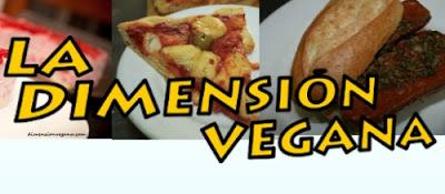 Captura del banner del blog La Dimensión Vegana.