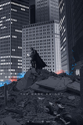 The Dark Knight Standard Edition Screen Print by Laurent Durieux x Mondo