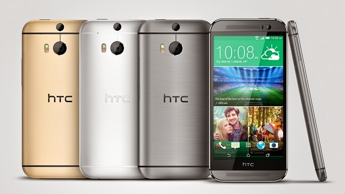Also known as HTC M8, All New HTC One
