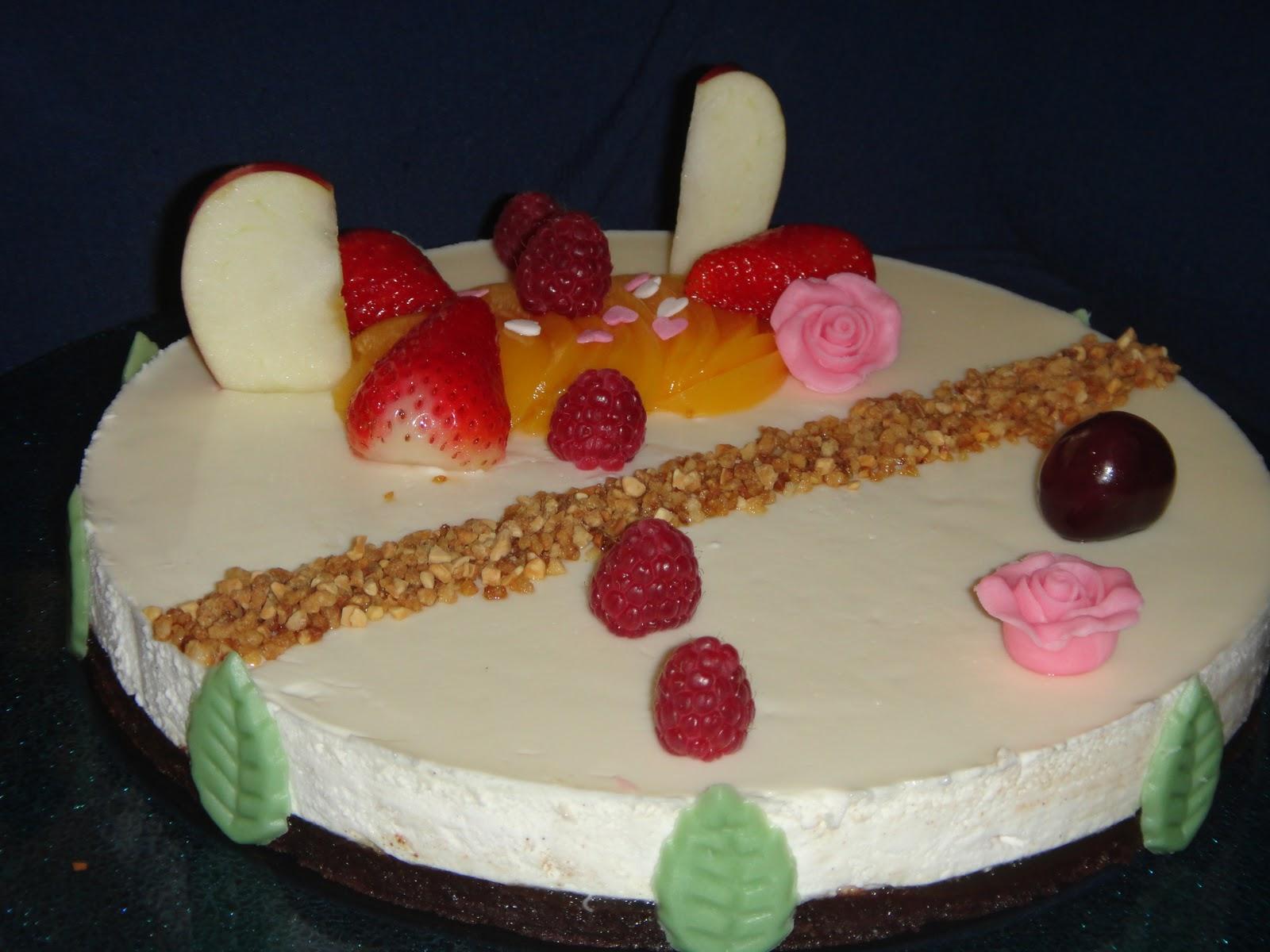 La cocina de paco garcia tarta mousse de vainilla con - Cocina con paco ...