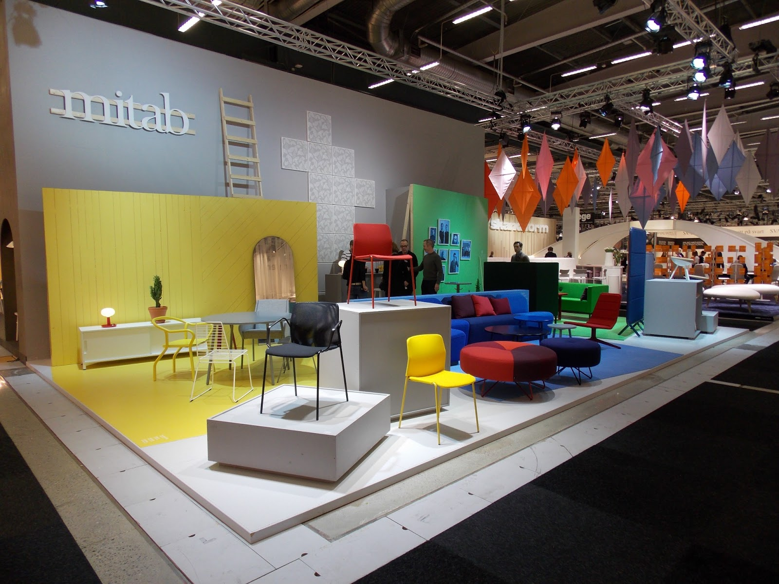 Platform Mitab s MiStand at Stockholm Furniture Fair 2013