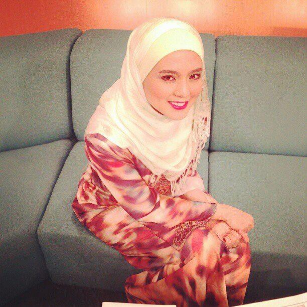 Nurul Syuhada Nurul Ain Bertudung Dalam MHI
