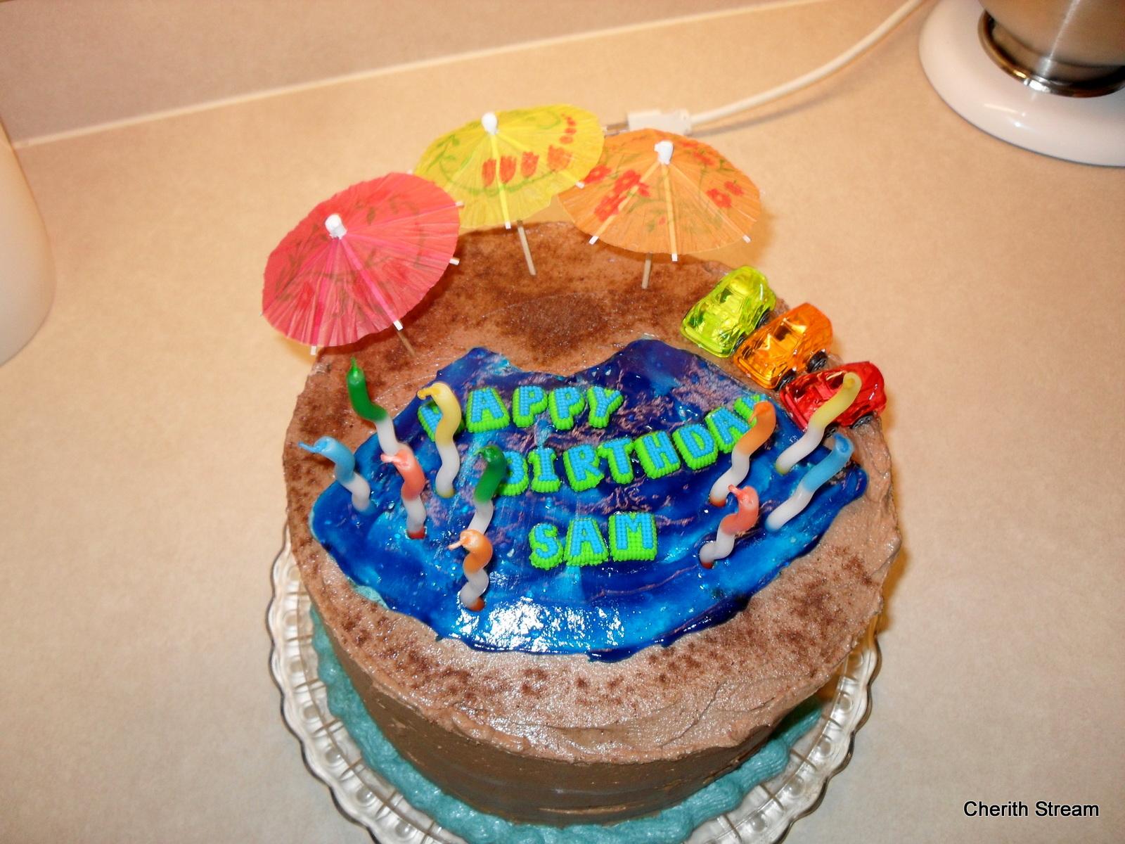 Sams 10th Birthday Cake Wills Blog Watching Heaven In Action