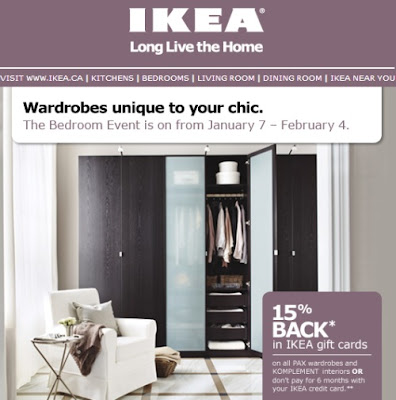 Canadian Daily Deals IKEA Canada Bedroom Event Earn 15 Back IKEA Gift Card