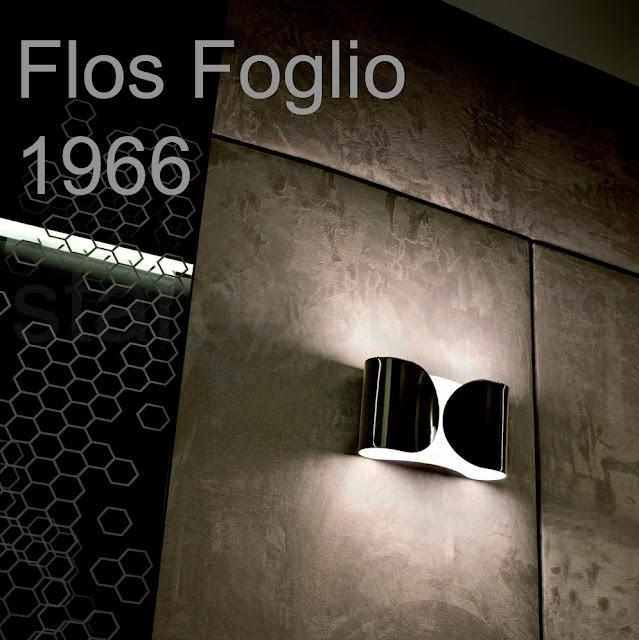 Foglio Wall Light, Foglio Wall Sconce & FLOS Foglio Light