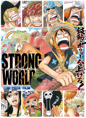 Cover Poster Film One Piece Strong World