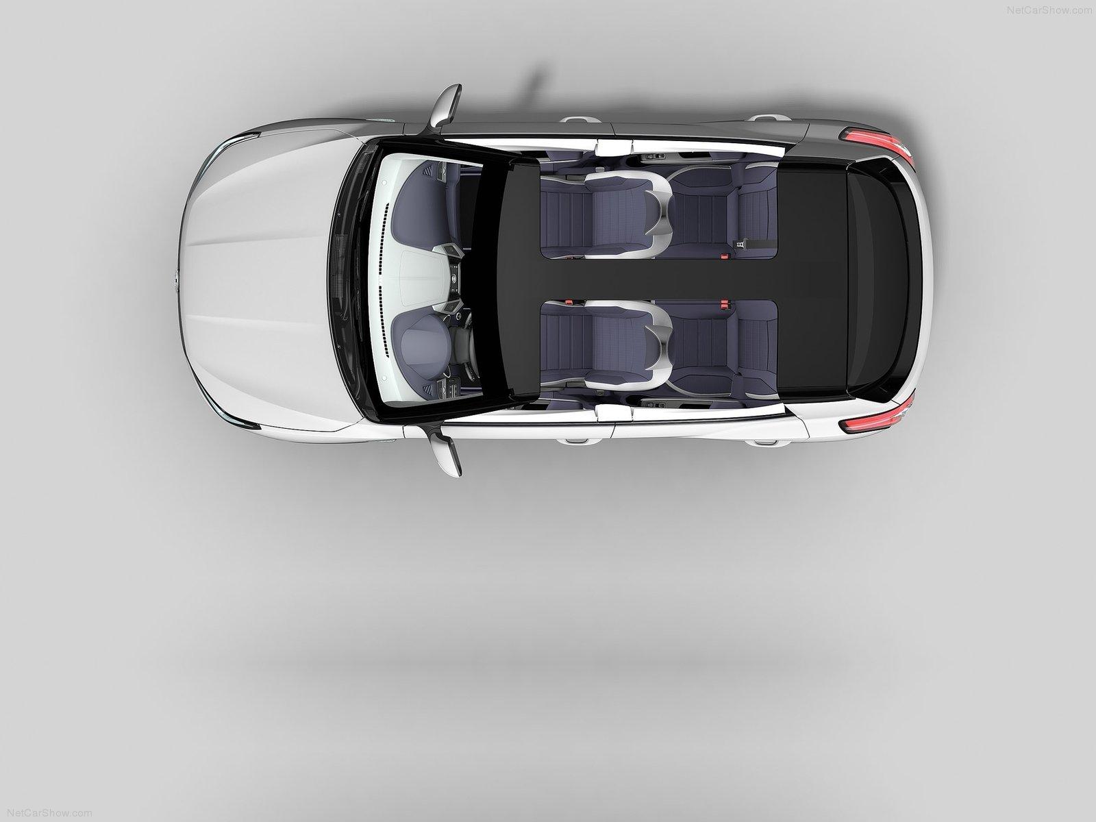 Hình ảnh xe ô tô SsangYong XIV-Air Concept 2014 & nội ngoại thất