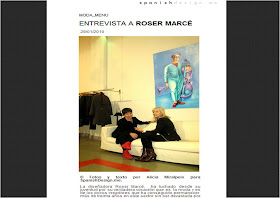 Reportaje a Roser Marce para SPANISHDESIGN