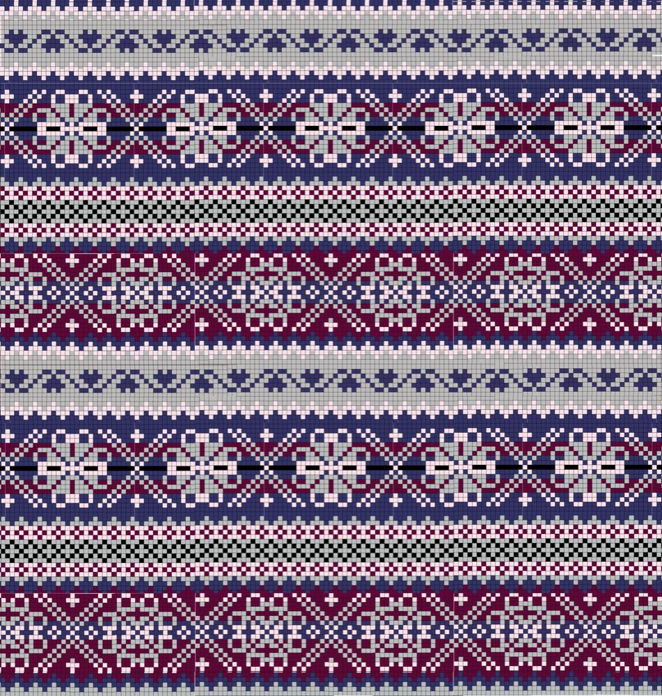 Fair Isle Patterns, Knitting Patterns, Fairislepattern3 Png 951, Fair Isle Kn...