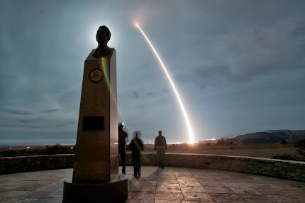 INTERCONTINENTAL BALLISTIC MISSILE LAUNCH
