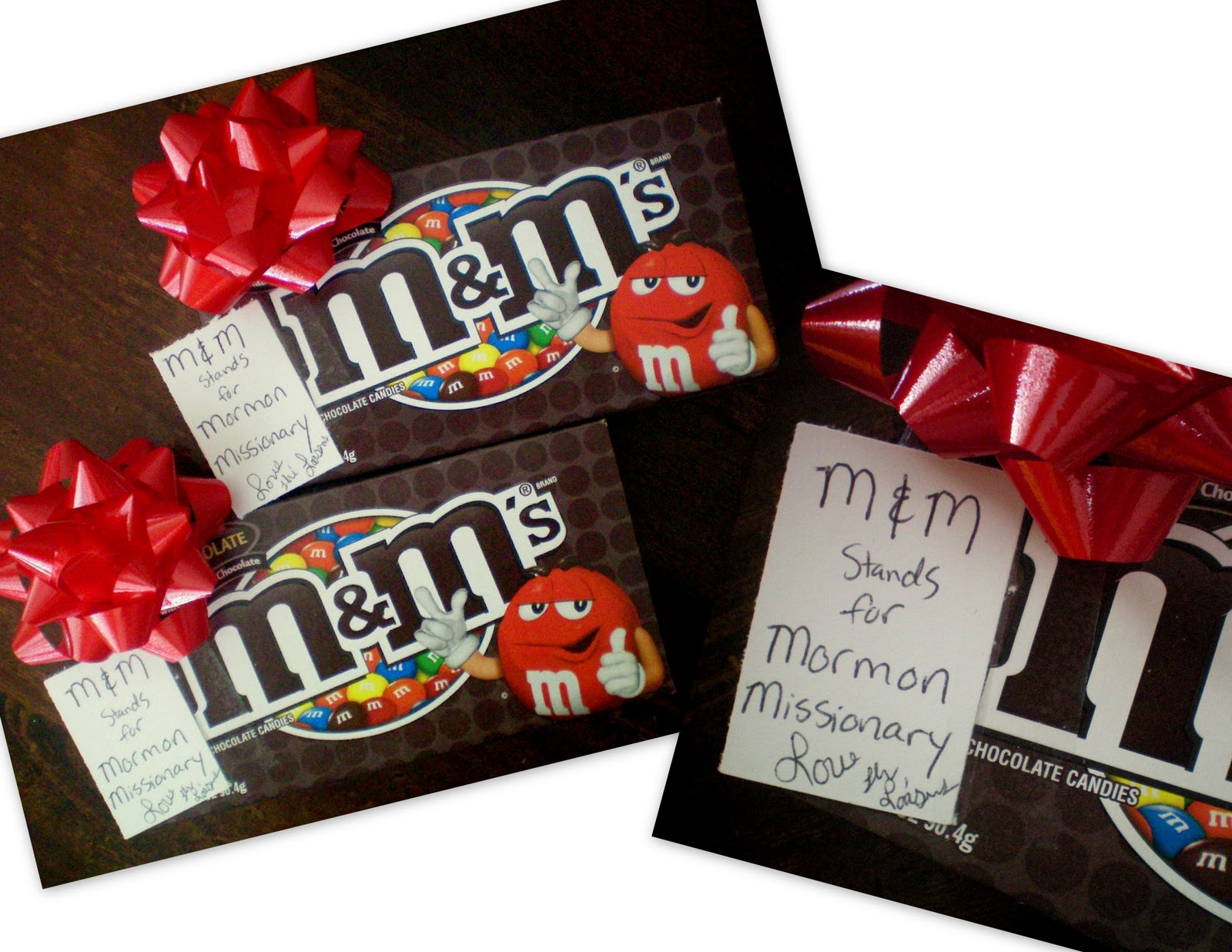 Gift ideas with m&ms christmas