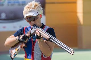 Olga Panarina (Rússia) - recordista mundial no Skeet - Final da Copa do Mundo ISSF de Tiro ao Prato Olímpico 2013 - Foto: Divulgação/ ISSF