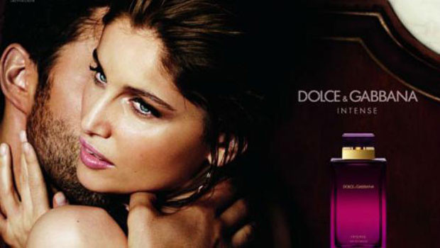 Laetitia Casta features as the face of the latest Dolce & Gabbana fragrance 'Intense'