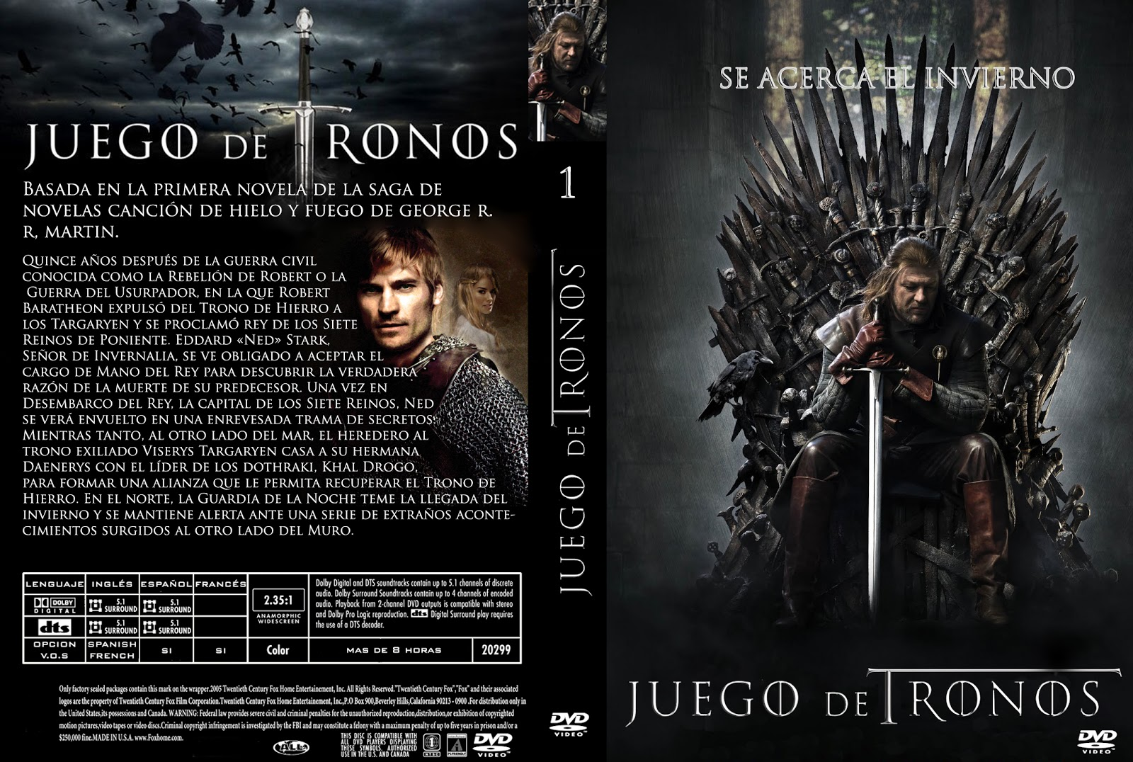 DESCARGAR TEMPORADA 1 JUEGO DE TRONOS | The World is FreeWare