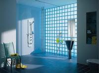 decorar con bloques de vidrio
