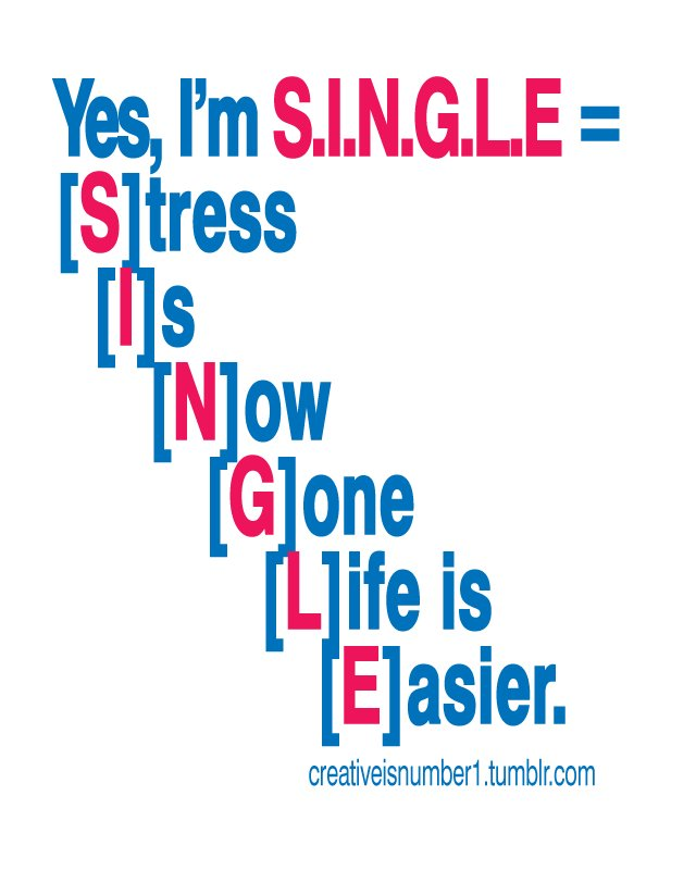 Funny Love Quotes But True : Being Single Relationships Funny Quotes. QuotesGram