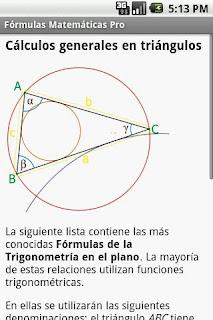 Fórmulas Matemáticas, aprender matemáticas