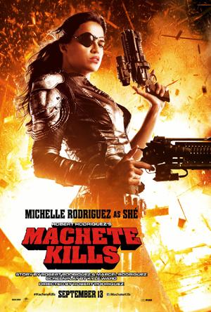 Michelle Rodriguez presenta Machete Kills