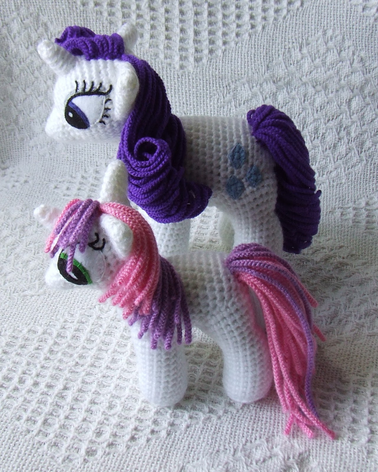 Free Crochet Pattern For My Little Pony Eyes : Knit One Awe Some: My Little Pony: Friendship is Magic ...