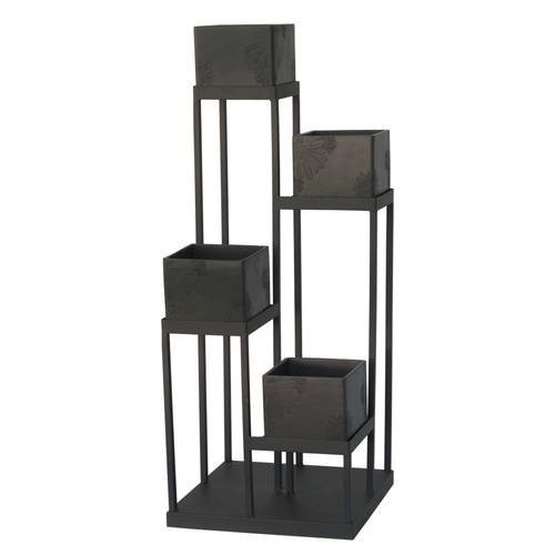 copy cat chic crate and barrel quadrant plant stand. Black Bedroom Furniture Sets. Home Design Ideas
