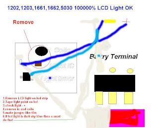 1202 lcd light problem