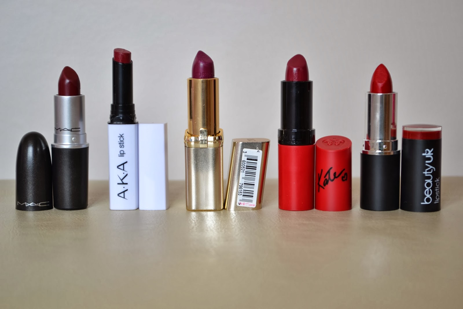 Beauty Waterfall: Top 5 Autumn Lipsticks