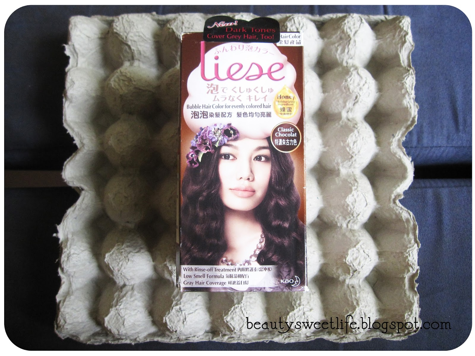 Review 10 Liese Bubble Hair Color Classic Chocolate