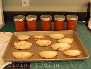 apricot jam & turnovers