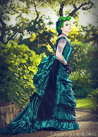 Green_Black_Gothic_Steampunk_Victorian_Dress