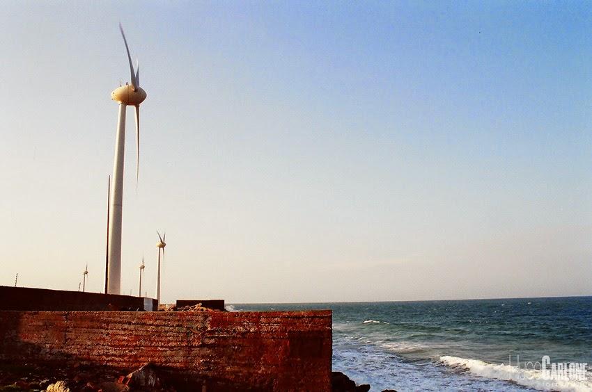 Turbinas Eólicas no litoral do Ceará