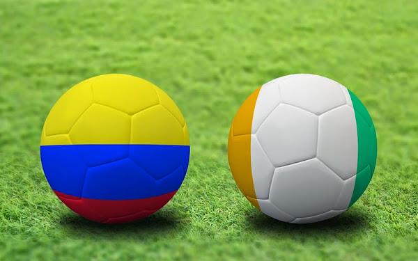 REPETICION SELECCIONES COLOMBIA VS COSTA DE MARFIL, Goles, Resultados, Estadisticas, Online