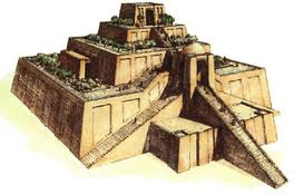 Ancient temple built by Sumerians