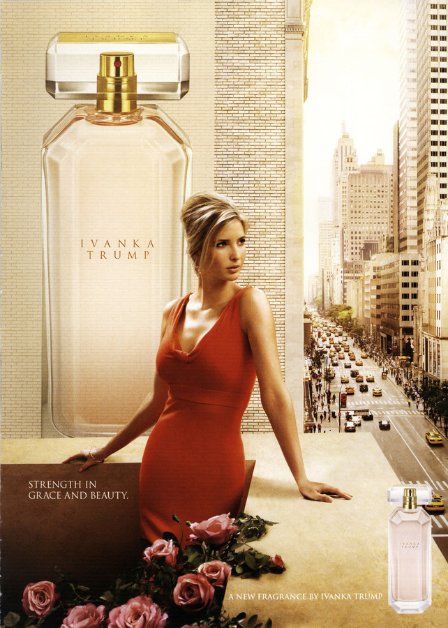 Ivanka Trump Fragrance Ad Campaign Spring/Summer 2013