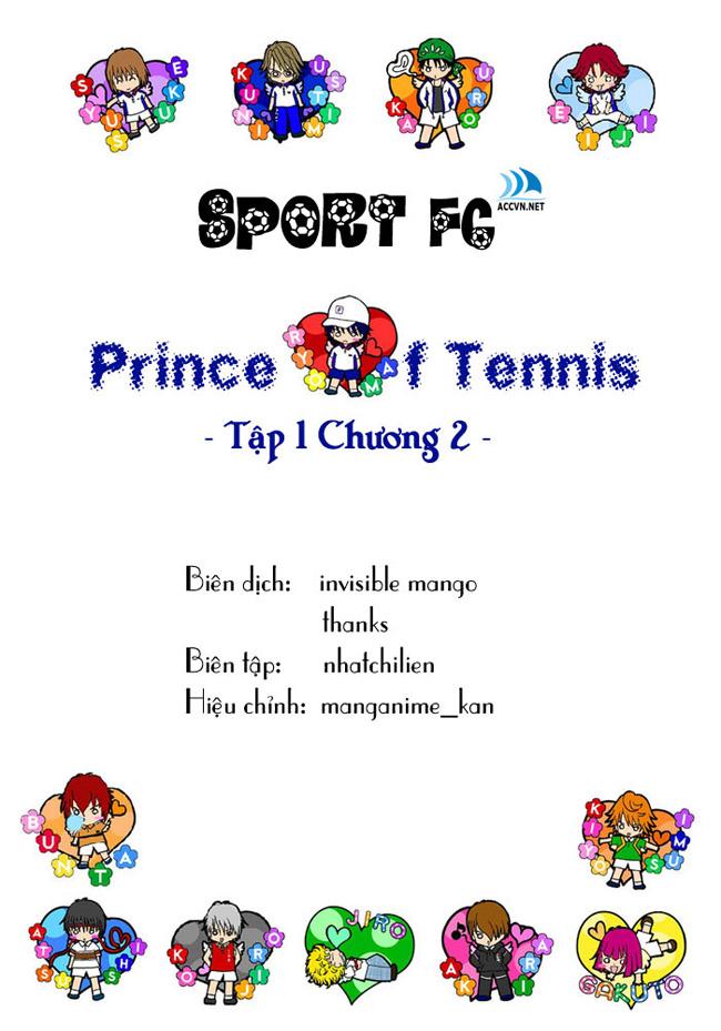 Prince of Tennis chap 2 Trang 1