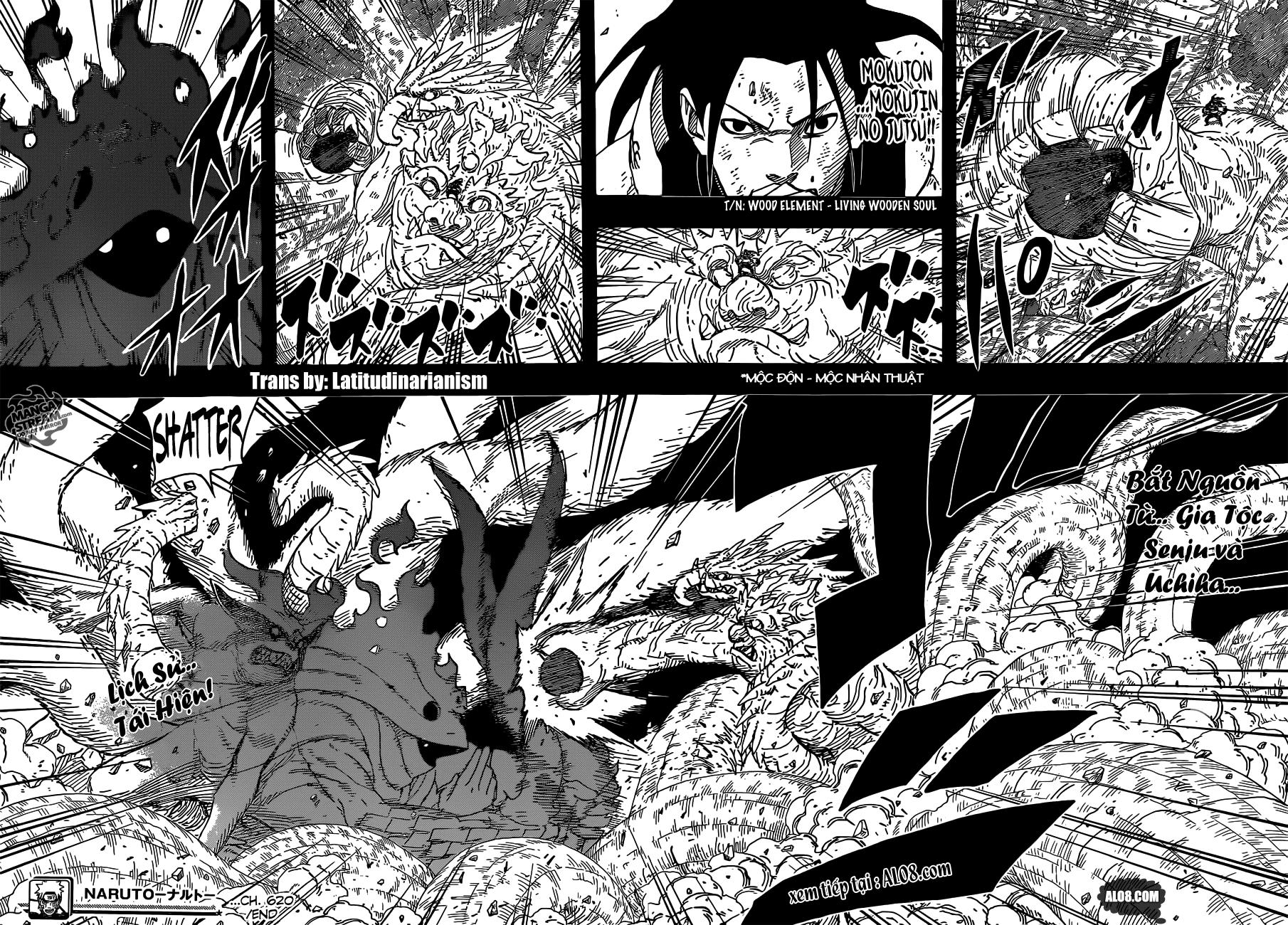 Naruto chap 620 Trang 16 - Mangak.info