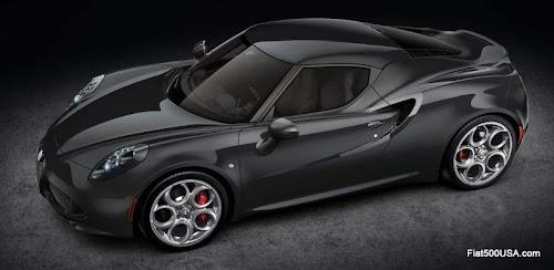 Alfa Romeo 4C in Nero