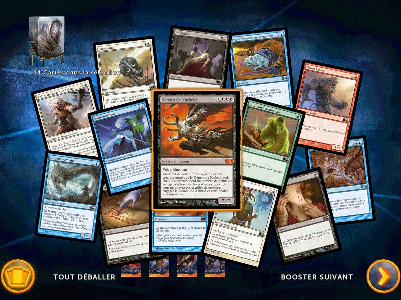 MAGIC 2014 DUELS OF THE PLANESWALKERS SCREENSHOT