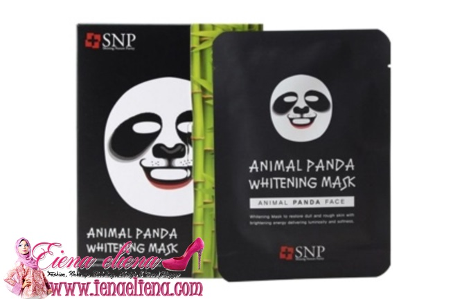 SNP Animal Panda Whitening Mask (10pcs/box) by SNP