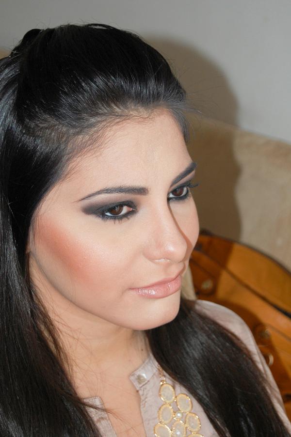 smoke eye - Maquiagem inspirada na Kim Kardashian