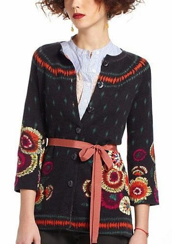 sweter haftowany