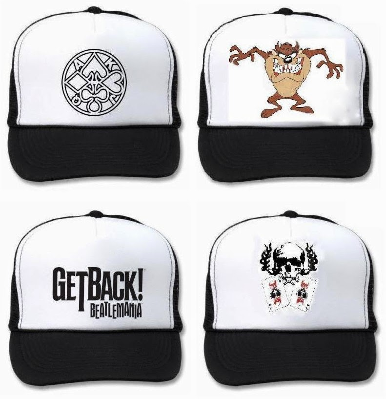 GORRAS ESTAMPADAS O BORDADAS