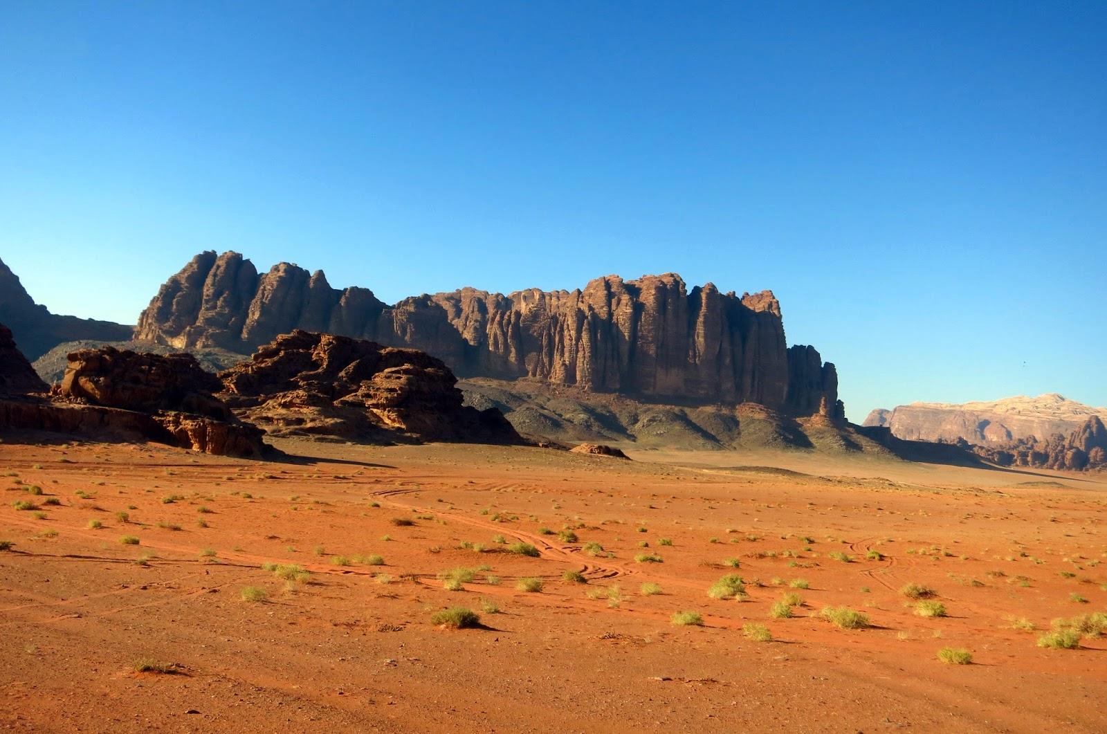 Wadi Rum, panorámica