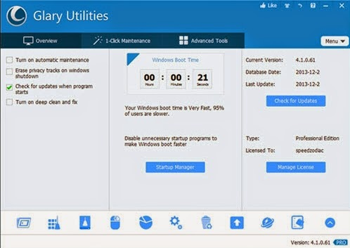 Download Glary Utilities Pro 5.4.0.11 Full Patch