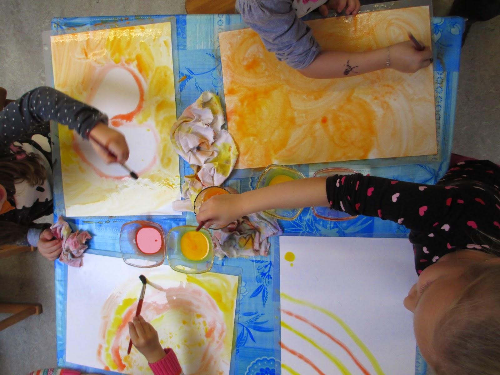 Kreatives im Kindergarten