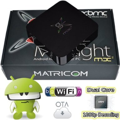 Box Midnight MX2 Android 4.2 Jelly Bean Dual Core XBMC Streaming