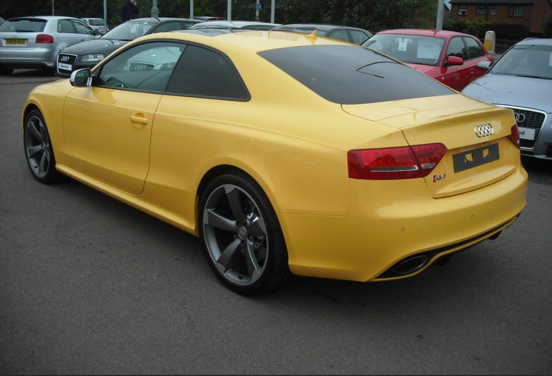 Audi Rs5 In Imola Yellow Quattroholic Com