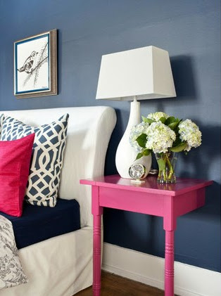 Anna Spiro Always Does Navy And Fuschia In Such A Fresh Way She Totally Rocks